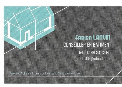 Conseiller en bâtiment – Fabien LANVIN
